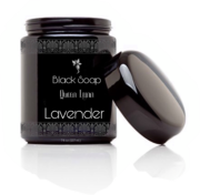 Moroccan Black Soap with Lavender